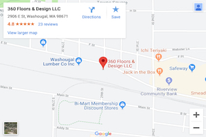360 Floors & Design LLC on Google Maps